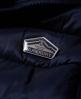 Superdry Luxe Fuji-vest med dobbel glidelås Marineblå