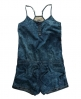 Superdry Tie Dye Playsuit Blue