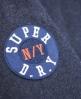 Superdry Varsity Bomberjacke Blau