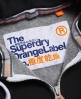 Superdry Orange Label Primary Zip Hoodie  Black