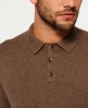 Superdry Orange Label Strick-Polo Braun