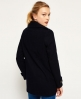 Superdry Classic Pea Coat Navy