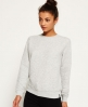 Superdry Quilted Nordic Crew Sweatshirt Grey
