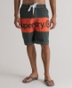 Superdry Bi Panel Boardshorts Dark Grey