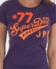 Superdry Angels T-shirt Purple