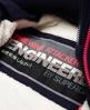 Superdry Veste à capuche en fourrure à doublure sherpa SD-Wind Attacker  Bleu Marine