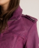 Superdry Super Blake Bomber Purple