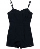 Superdry 50s Swiss Playsuit Navy