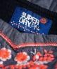 Superdry Festival Folk Cami Dress Blue