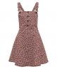 Superdry Printed Dunagree Dress  Purple
