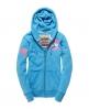 Superdry Runner Zip Hoodie Blue