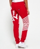 Superdry Diagonal Sports jogger  Rood