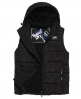 Superdry Sports Puffer Gilet  Black
