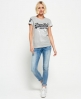 Superdry T-shirt Premium Goods Duo Bleu Marine