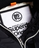Superdry Pop Zip Arctic windcheater met capuchon Zwart