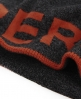 Superdry Reverse Logo Beanie Grey