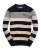 Superdry Clipper Crew Jumper  Navy