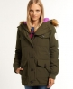 Superdry Military Everest Coat Green
