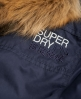 Superdry Parka antivento in microfibra Tall WindParka Navy