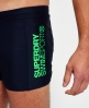 Superdry Swim Sport Midi Trunk  Navy