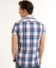 Superdry Washbasket Check Shirt Blue