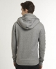 Superdry Grit Label Zip Hoodie Grey