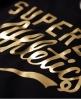 Superdry Track & Field Athletic Bodysuit Black