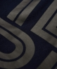 Superdry IE Iconic Graphic hættetrøje Navy