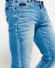 Superdry Vaqueros ceñidos Azul