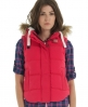 Superdry Hooded University Vest Red