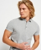 Superdry Polo City Studio Gris Clair
