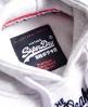 Superdry Osaka Brand Hoodie Light Grey