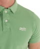 Superdry Classic Pique Polo Green