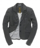 Superdry Brook Tweed Blazer Grey