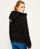 Superdry Cazadora Microfibre Toggle Puffer Negro