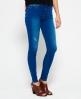 Superdry Sophia High Waist Super Skinny Jeans Blue