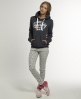 Superdry Ticket Type Hoodie Navy