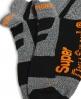 Superdry High Ergonomic Sock Single Pack  Black