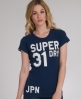 Superdry Trainer Entry T-shirt Blue