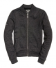 Superdry Cazadora Orange Label Micro Jersey Luxe Bomber Gris Oscuro