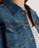 Superdry Skinny denim jacket Blue