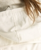Superdry Cropped Hooded Raincoat White