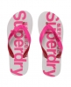 Superdry GT2 Two Colour Flip Flop White