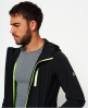 Superdry Sport Active Flash Zip Hooded Jacket Black