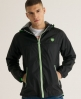 Superdry Zip Through Cagoule Black