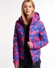 Superdry Ski Command Utility Hooded Jacket Pink