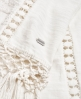 Superdry Prairie Plains Fringe T-Shirt Weiß