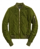 Superdry Quilted Utility Bomber Jacket  Green