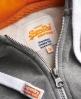 Superdry Osaka 6 Quilted Hoodie Grey