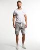 Superdry Trackster Sweat Shorts Grey
